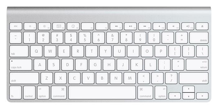 Apple wireless keyboard - US version